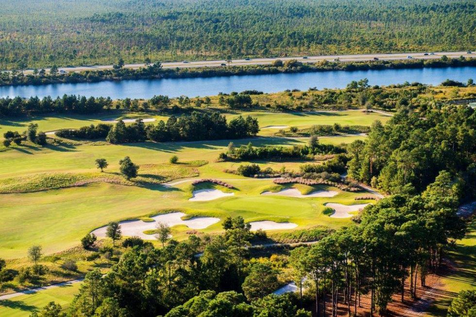 The 14th Hole at Grande Dunes Members Club