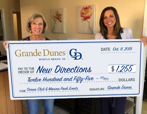 Grande Dunes Donates Proceeds from Concert to Local Nonprofit Helping Survivors of Homelessness