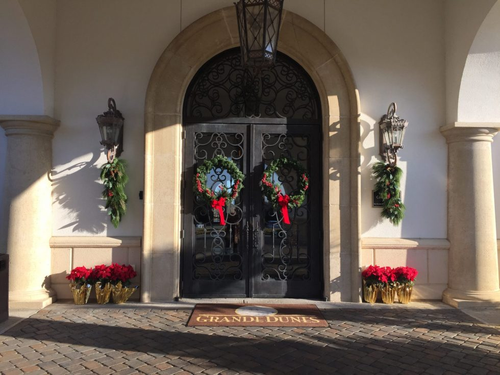 Wishing you a festive Happy Holidays… from Grande Dunes