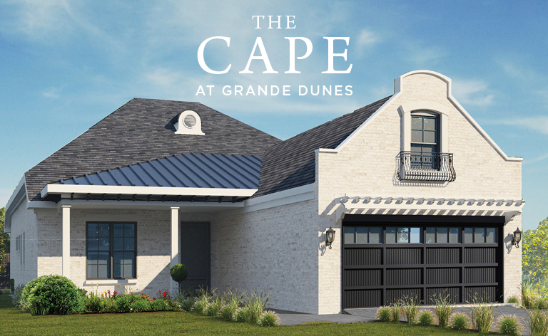 New Plans Unveiled for The Cape at Grande Dunes